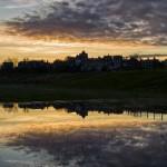 Rye at Sunset