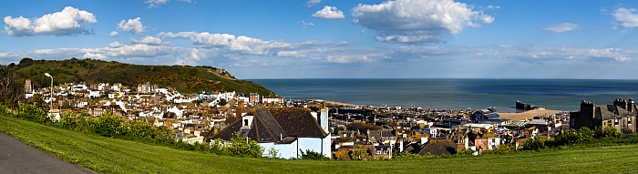 Hastings Old Town Panorama