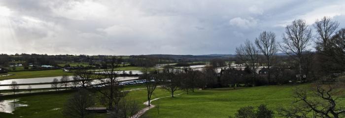 Flooding at Bodiam