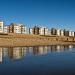 The Flats along Bexhill Seafront