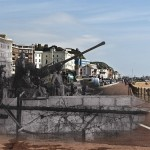 Anti Aircraft Gun on Hastings Seafront