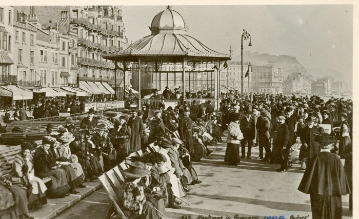 Hastings seafront bandstand