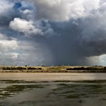 Cloud Burst near Rye Harbour