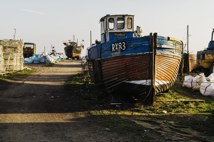 Hastings Fishing Boat