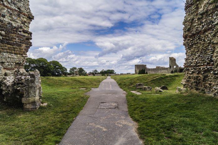 Pevensey Castle 6