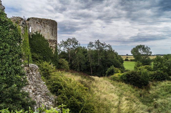 Pevensey Castle 9